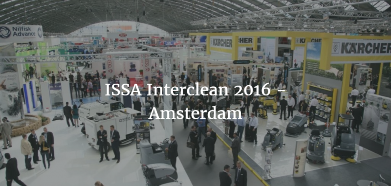 ISSA Interclean 2016 ad Amsterdam