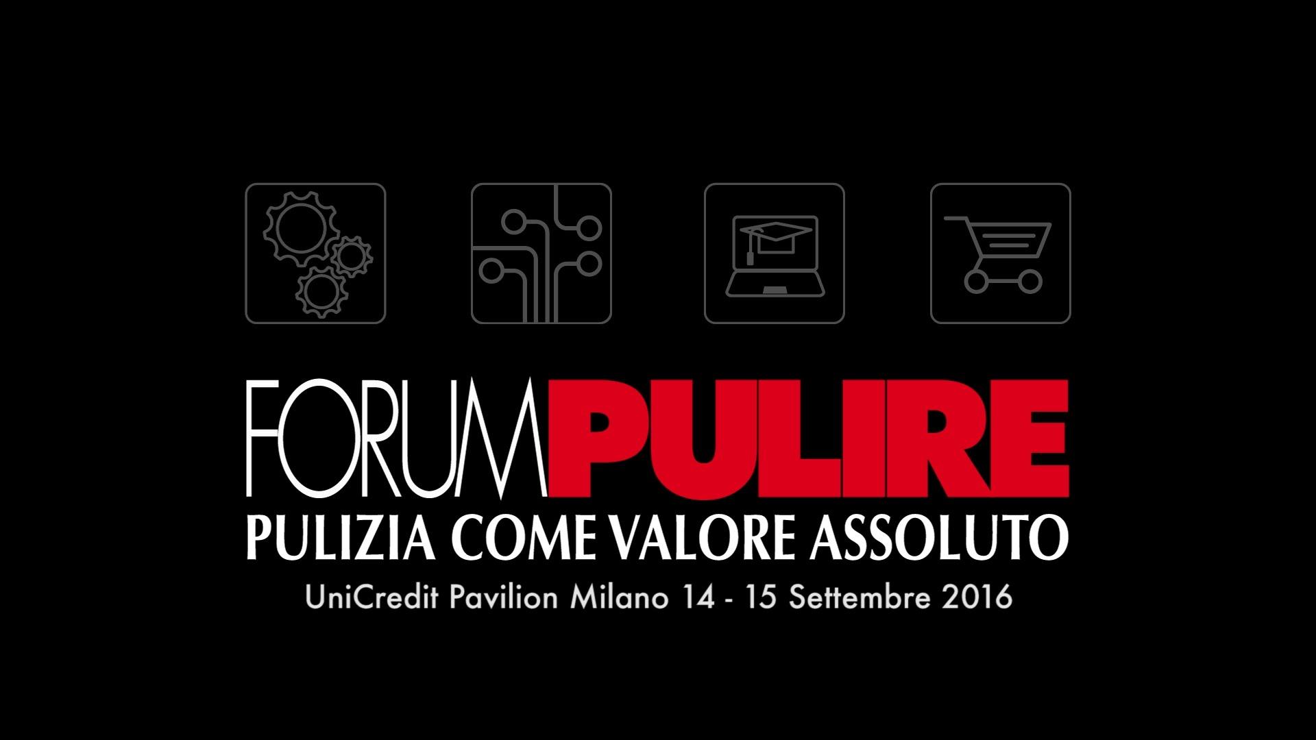 Forum Pulire 2016