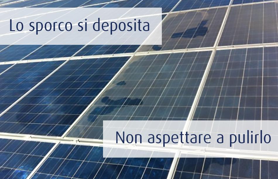 Pulizia Pannelli solari Erremme