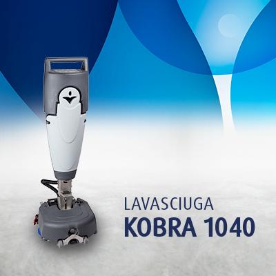 Lavasciuga pavimenti KOBRA 1040